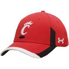 Cincinnati Bearcats Under Armour Sideline Renegade Performance Adjustable Hat - Red