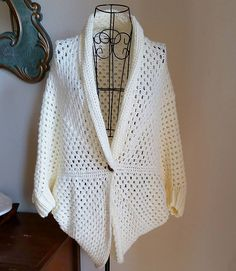 Ravelry: Simple Granny Shrug Sweater pattern by Regina S. Graham