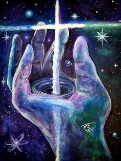 Isaiah 40 12 Painting by Pamorama Jones