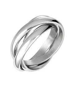 Triple Russian Interlocked Stainless Steel Men Unisex Wedding Band Rings, http://www.amazon.com/dp/B005CAXO5G/ref=cm_sw_r_pi_awdm_x_ri0OxbXGZTVK6