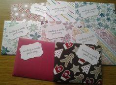 Scented Satchet Envelopes