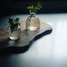 small jars for the window.