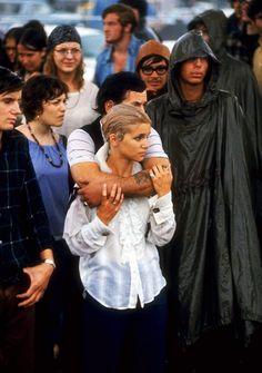 Life at Woodstock Festival 1969