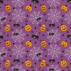 Halloween Infantil, Feliz Halloween, Purple Halloween, Halloween Spider, Happy Halloween, Halloween Prints, Halloween Patterns, Imprimibles Halloween, Autumn Scenes