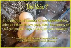 Na Cozinha da Margô: Dicas
