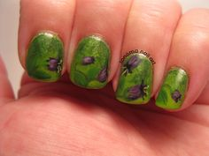 Sonoma Nail Art: 31 Day Challenge: Floral