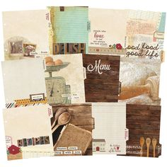 Simple Stories Snatp! Double-Sided Recipe Divider Pages, 6 x 8-Inch, 12-Pack -- Be sure to check out this awesome product.