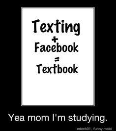 Yea I study!!!!