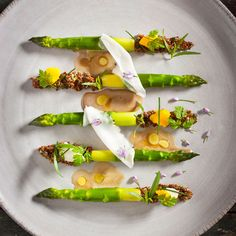 Asparagus :: Best New Chef Restaurant The NoMad, New York City