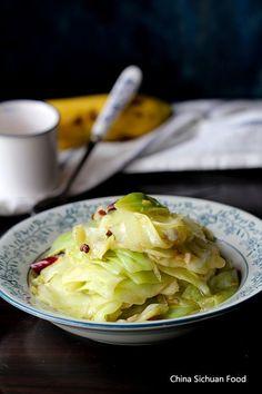 Chinese style cabbage stir fry (Vegan Cauliflower Asian)