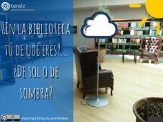 ¿En la biblioteca tú