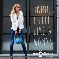 PERSBERICHT: MOCNIKOVA raakt de vrouw in haar fashionhart