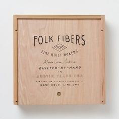 Folk Fibers Product Packaging