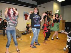Sachem Cosplay Party dancers