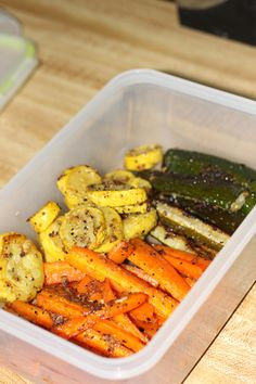 All those yummy roasted veggies packed up ready for lunch. Fruit And Vegetable Diet, Veggie Diet, Vegetable Diet Plan, Diet Tips, Diet Recipes, Healthy Recipes, Fruit Recipes, Diet Meals, Healthy Meals