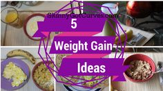 5 Healthy Breakfast Ideas for Weight Gain Calories) - Skinny Got Curves Weight Gain Journey, Weight Gain Meal Plan, Healthy Weight Gain, Weight Loss Snacks, How To Stay Healthy, Healthy Life, Healthy Living, Healthy Man, Nutrition