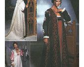 Simplicity 9533 Renaissance Costume Collection Sewing Pattern Misses