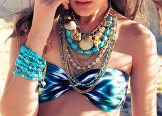 Summer statement necklaces
