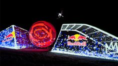 PROJECTION MAPPING  Red Bull Snowboarding Event    Adam Norris would LOVE to do one of these, and we would love to help him make it a reality. I just can't help but wish the globe in the centre became a mirror / crystal ball at some point.