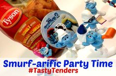 #ad Smurfs 2 Family Movie Night #TastyTenders #shop #cbias