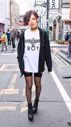 Japanese street fashion