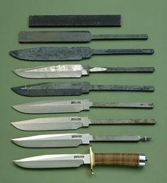Randall Knives Construction