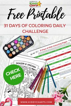We are so keen to keep little hands and minds busy that we are giving you 31 days of kids colouring pages! There is a different theme everyday! Click through to the post and make sure you Pin this for later! #freeprintables #printables #colouringpages #coloringpages #kidsactivities #coloring #dailycoloringchallenge #stayathome #covidactivities #kiddycharts Kids Craft Box, Crafts For Kids, Free Coloring, Coloring Pages For Kids, Under The Sea Pictures, Cupcake Coloring Pages, Mini Doodle, Doodle Books, Daily Page