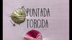 PUNTADA TORCIDA- TUTORIAL- PASO A PASO - YouTube