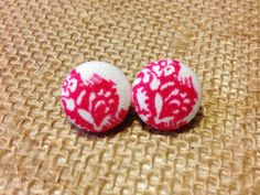 Hey, I found this really awesome Etsy listing at https://www.etsy.com/listing/127070704/raspberries-n-cream-button-earring