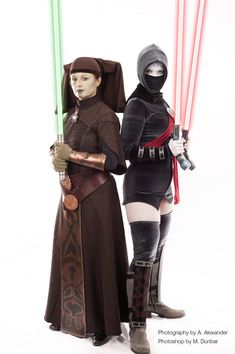 Asajj Ventress Star Wars Cosplay : Our awesome Geek Girl Critical Miss looks badass cosplaying as Asajj Ventress from Star Wars: The Clone Wars! We love this character and she pulls her off great! Here's what she said about it...