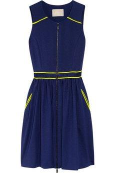 Jason Wu|Silk-trimmed stretch-jersey dress|NET-A-PORTER.COM - StyleSays