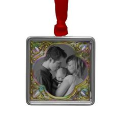 Colorful Frame Ornament
