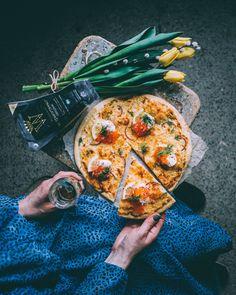 Sauce Pizza, Pizza Girls, Pesto Pizza, Breakfast Pizza, Food Illustrations, Pizza Recipes, Food Styling, Food Art, Pizza Hut
