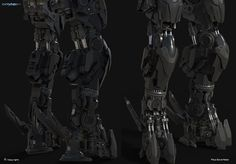 Wip! New mech, Paul Dave Malla on ArtStation at https://www.artstation.com/artwork/wip-new-mech