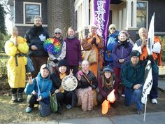 No More Fukushimas Peace Walk who visited the Community of Living Traditions -- http://www.facebook.com/peacewalk.2012