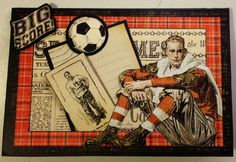 annes papercreations: Graphic 45 Good Ol Sport cards #graphic45
