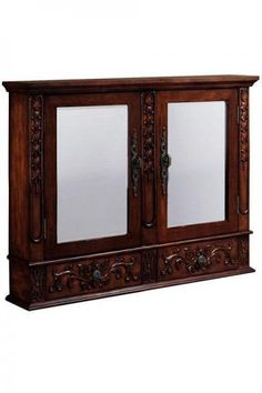 "Winslow 32""W Double Mirrored Wall Cabinet"