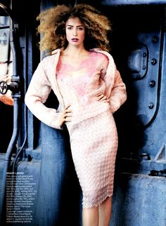 Raquel Zimmerman by Mario Testino for Vogue US March 2013