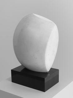 "Jean / Hans Arp | ""Mediterranean Sculpture"" | Marble on stone plinth | 38x25 x15cm | 1941"