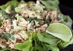 Chipotle Chicken Salad... this would make a great sandwich as well