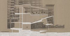 archisketchbook - architecture-sketchbook, a pool of architecture drawings, models and ideas - drawingarchitecture: Dance Studios at Queensboro...