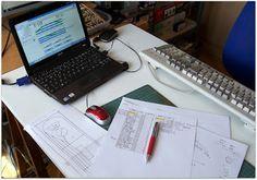 Realización de bocetos.  Diseño de la maqueta y cálculo del material necesario para la realización de la misma.