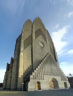 """Grundtvig's Church"" (expressionist), designed by architect Peder Vilhelm Jensen Klint, was built between 1921 and 1940 as a memorial to N.F.S. Grundtvig – a famed Danish pastor, philosopher, historian, hymnist, and politician of the 19th century. Courtesy of Flickr user Flemming Ibsen"