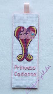 Zakładka do książki Księżniczka Cadance  Princess Cadance bookmark