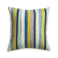 "Kipton 18"" Pillow in Decorative Pillows | Crate and Barrel"