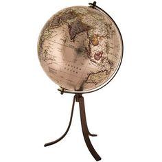 Metallic Silver Globe