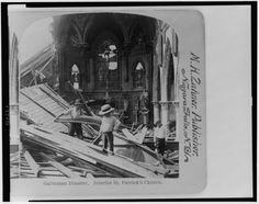 Galveston, Texas Hurricane, September 1900This hurricane was the deadliest in U.S. history—the estimated death toll was 8000 (to compare, 1800 people died during Hurricane Katrina).