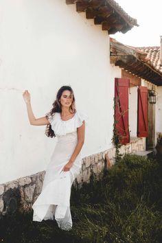 Encajes y trenzas en Finca Tajuña | Casilda se casa
