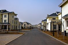Ordos, China: A Modern Ghost Town    Meant as home for one million people the Kangbashi district remains nearly empty five years after construction began