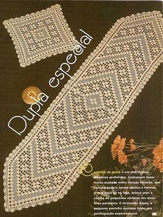 Best 12 Free Patterns Archives – Beautiful Crochet Patterns and Knitting Patterns Filet Crochet, Crochet Quilt, Crochet Table Runner Pattern, Crochet Tablecloth, Diy Crafts Crochet, Crochet Home, Lace Doilies, Crochet Doilies, Crochet Freetress